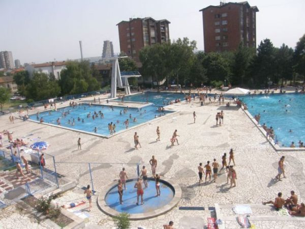 Belgrade swimming pools Olimp