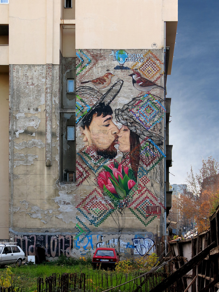 Top must see Murals in Belgrade