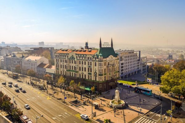 Top 4 star Hotels in Belgrade | Belgrade at night