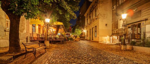4 days in Belgrade skadarlija