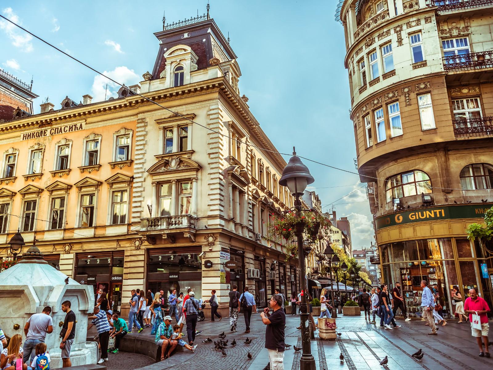 May in Belgrade Knez
