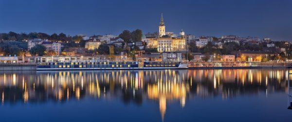 May in Belgrade river