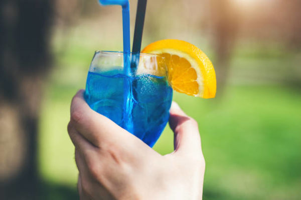 Most popular cocktails in Belgrade blue