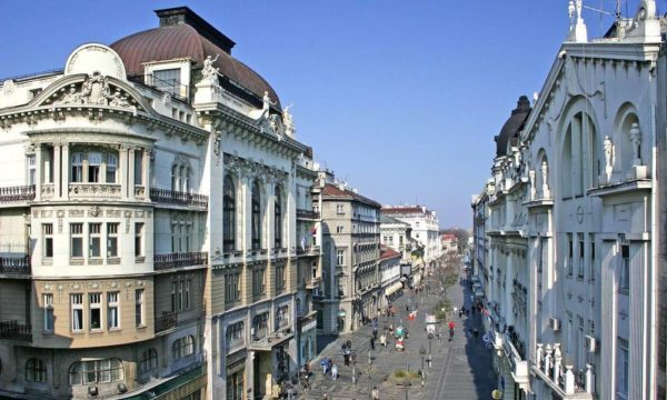 Where to buy art | Belgrade at night