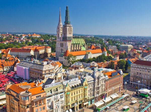 From Belgrade to Croatia Zagreb