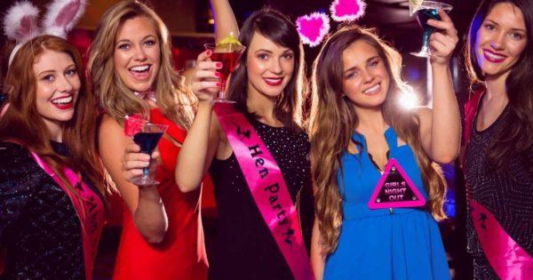 Posh and luxury bachelorette