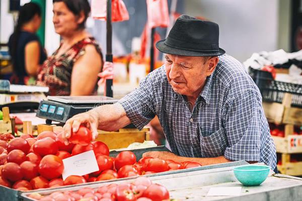 Support Local Farmers   Belgrade at night