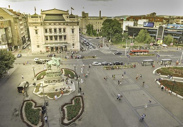 Trg-Belgrade