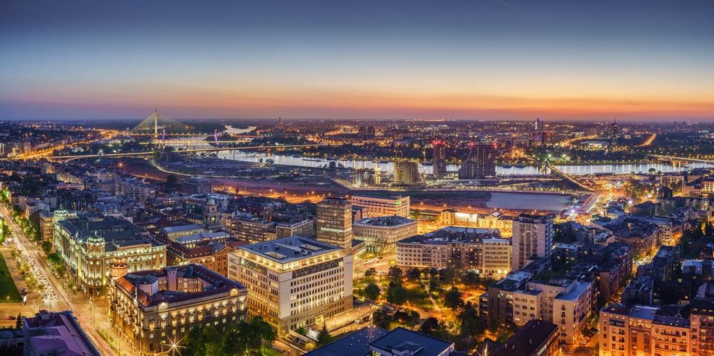 What makes the Belgrade Special?   Belgrade at night