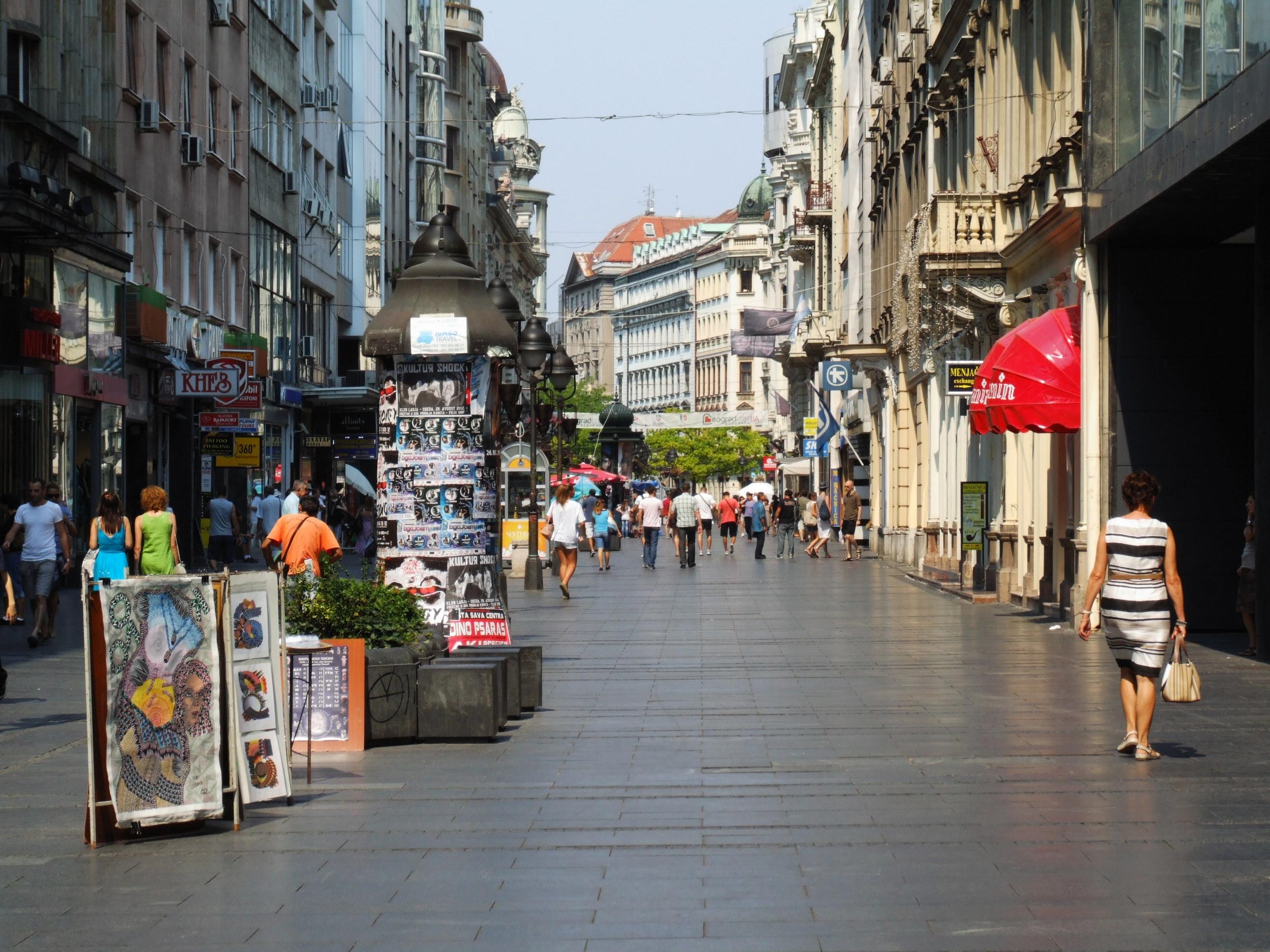 Traveling Alone in Belgrade